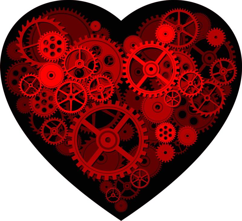 Печать на холсте Любовный механизм, дизайн #05813