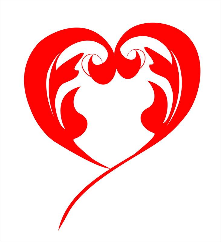Постеры Сердце с огнём, дизайн #05816