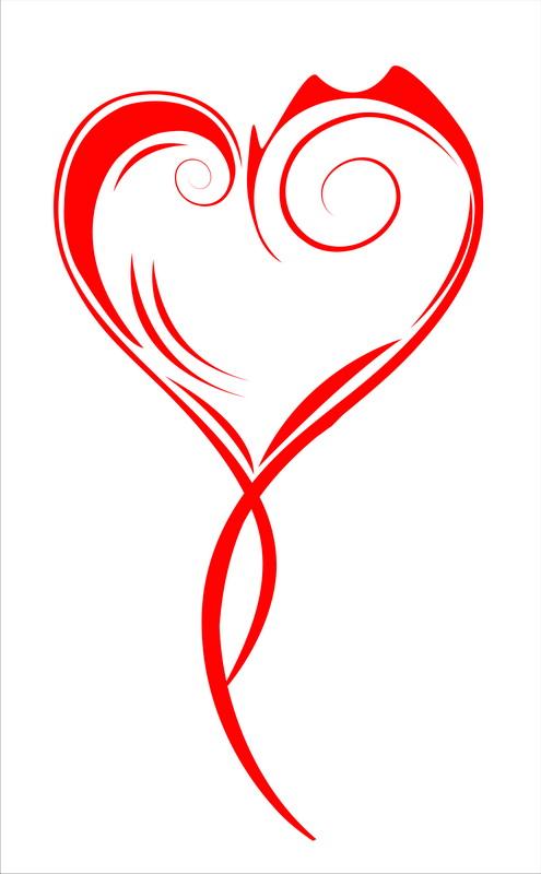 Постеры Витое сердце, дизайн #05818