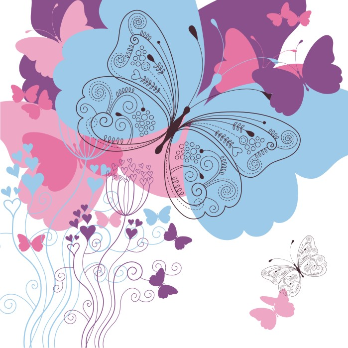 Постеры Бабочки