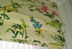 Римские шторы для ванных комнат