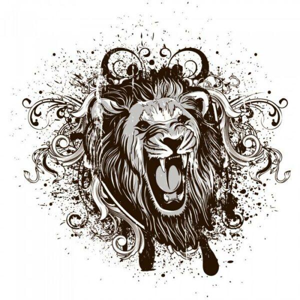 Римские шторы Лев