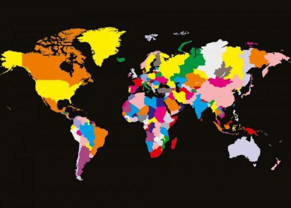 Японские панели Карта мира