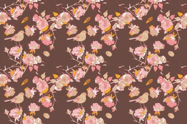 Постеры Цветы и птицы