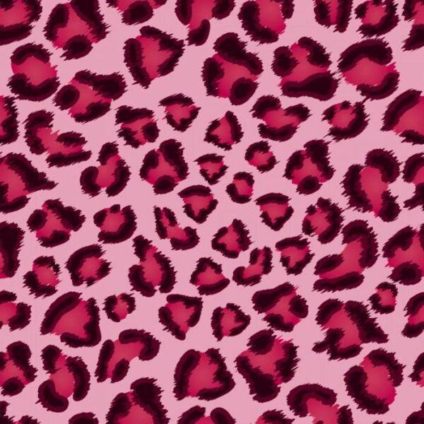 Японские панели Розовый леопард