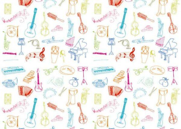 Японские панели Музыкальные инструменты