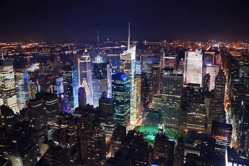 Постеры дизайн Мегаполис ночью