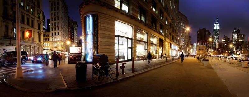 Постеры дизайн Нью-Йорк ночью