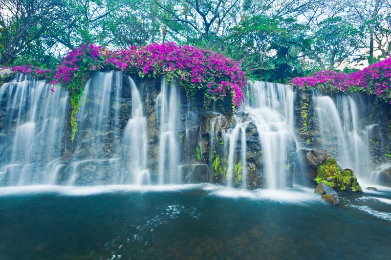 Японские панели Водопад