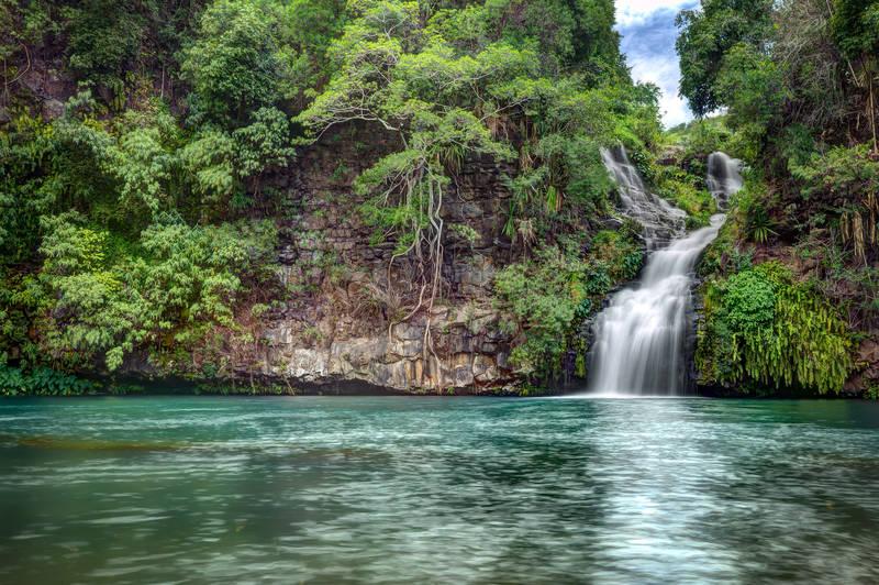Постеры Водопад в джунглях