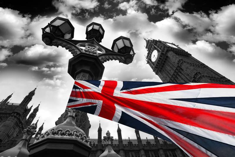Фотообои под заказ Флаг Великобритании
