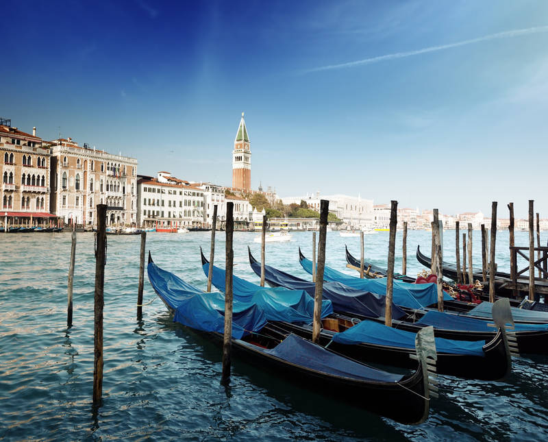 Постеры Гондолы в Венеции