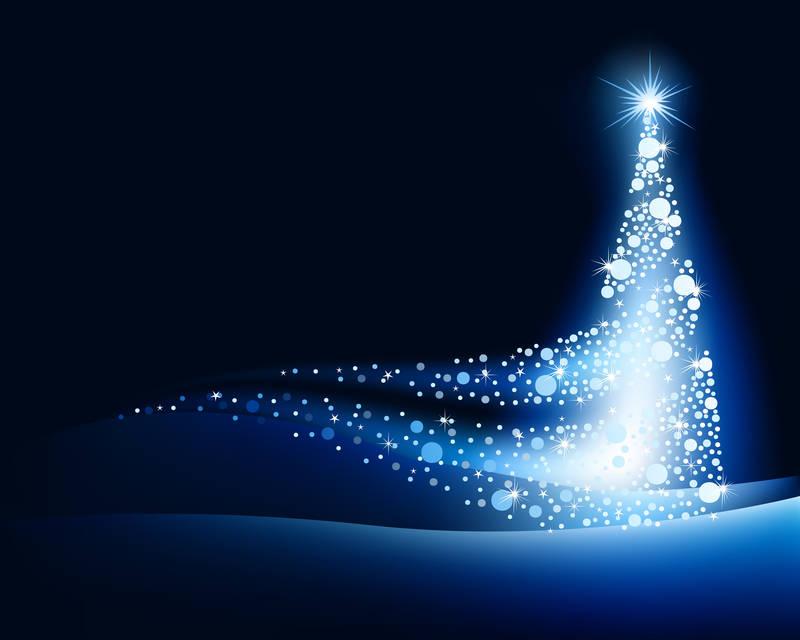 Постеры Новогодняя елка