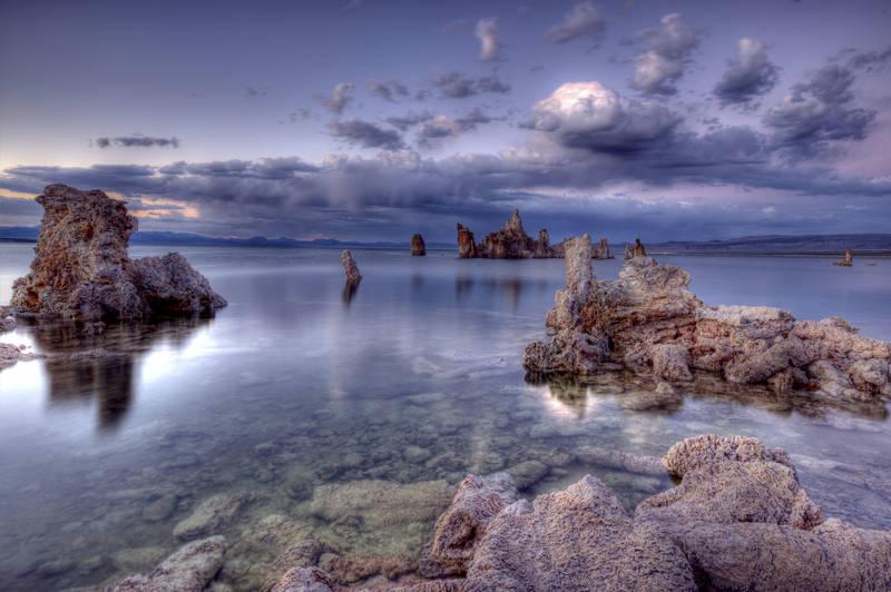 Японские панели Камни у берега