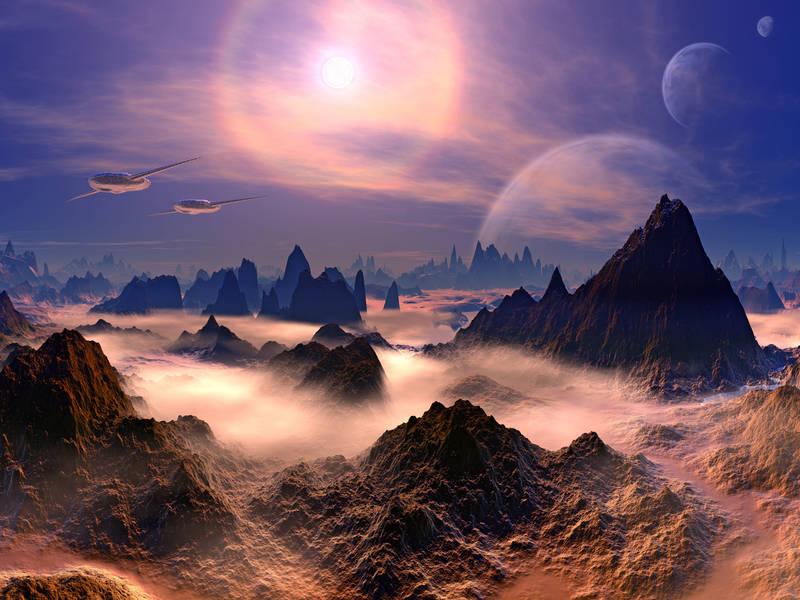 Римские шторы Волшебное небо