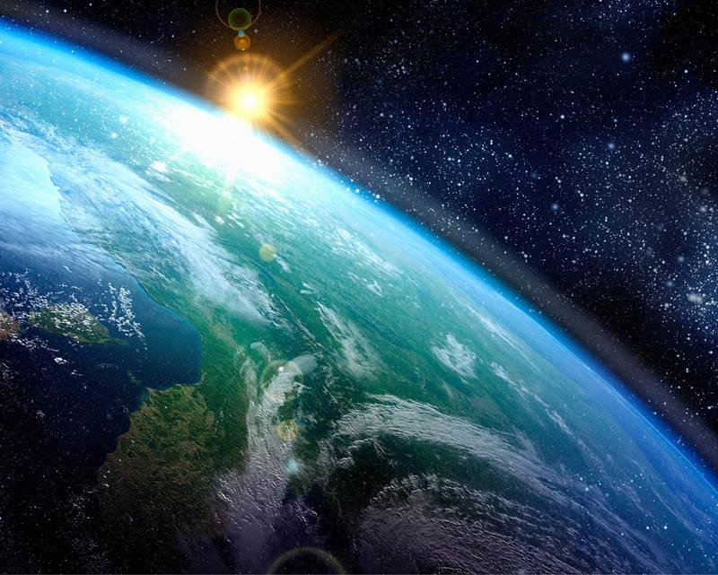 Печать на холсте Планета Земля