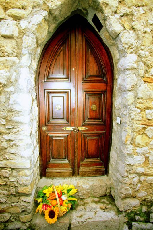 Римские шторы Дверь в дом