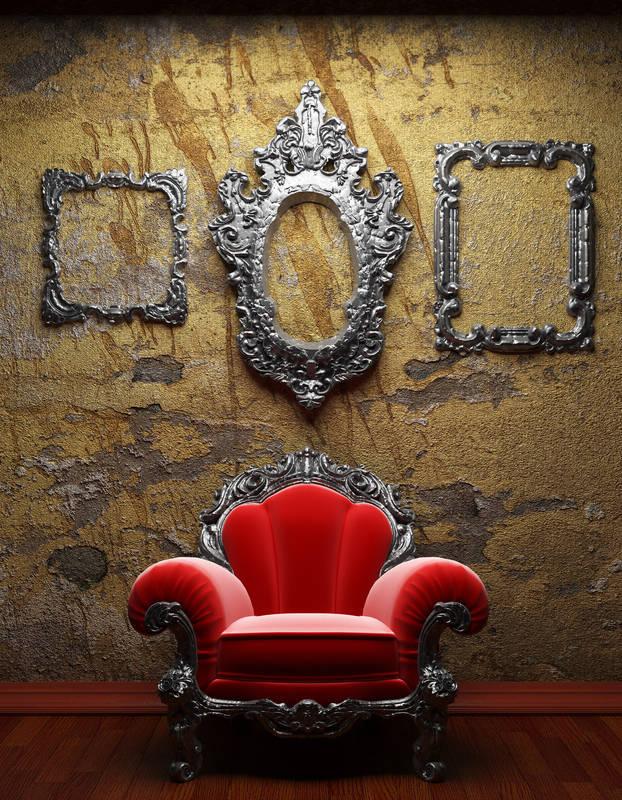 Рольшторы Красное кресло