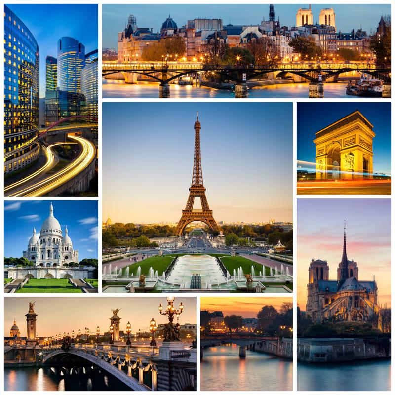Постеры Париж
