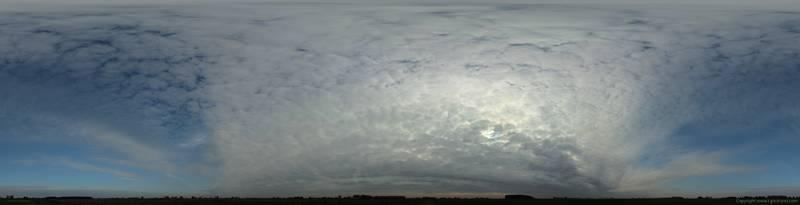 Печать на холсте Небо в облаках