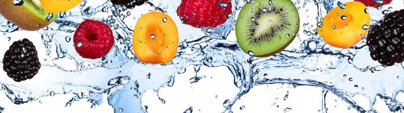 Печать на холсте Сочные фрукты