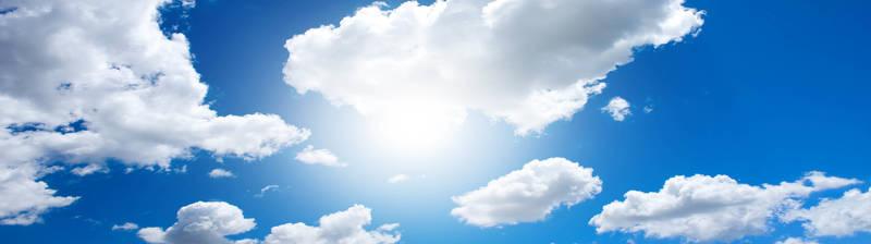 Солнце за облаками