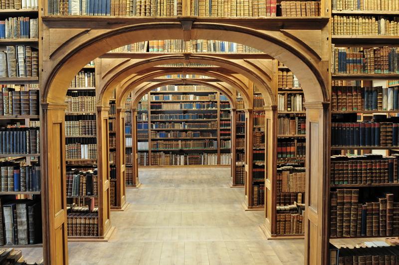 Японские панели Аркада библиотеки, дизайн #05848