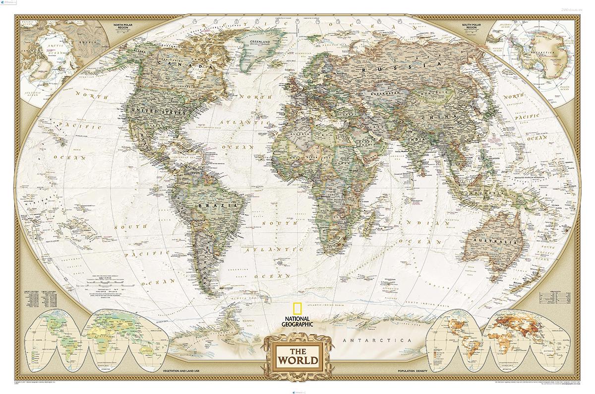 Японские панели Карта мира, дизайн #05918