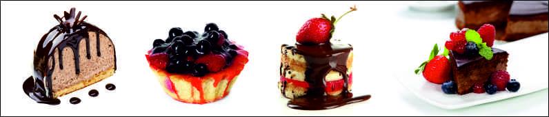 Скинали для кухни Десерты, дизайн #05973