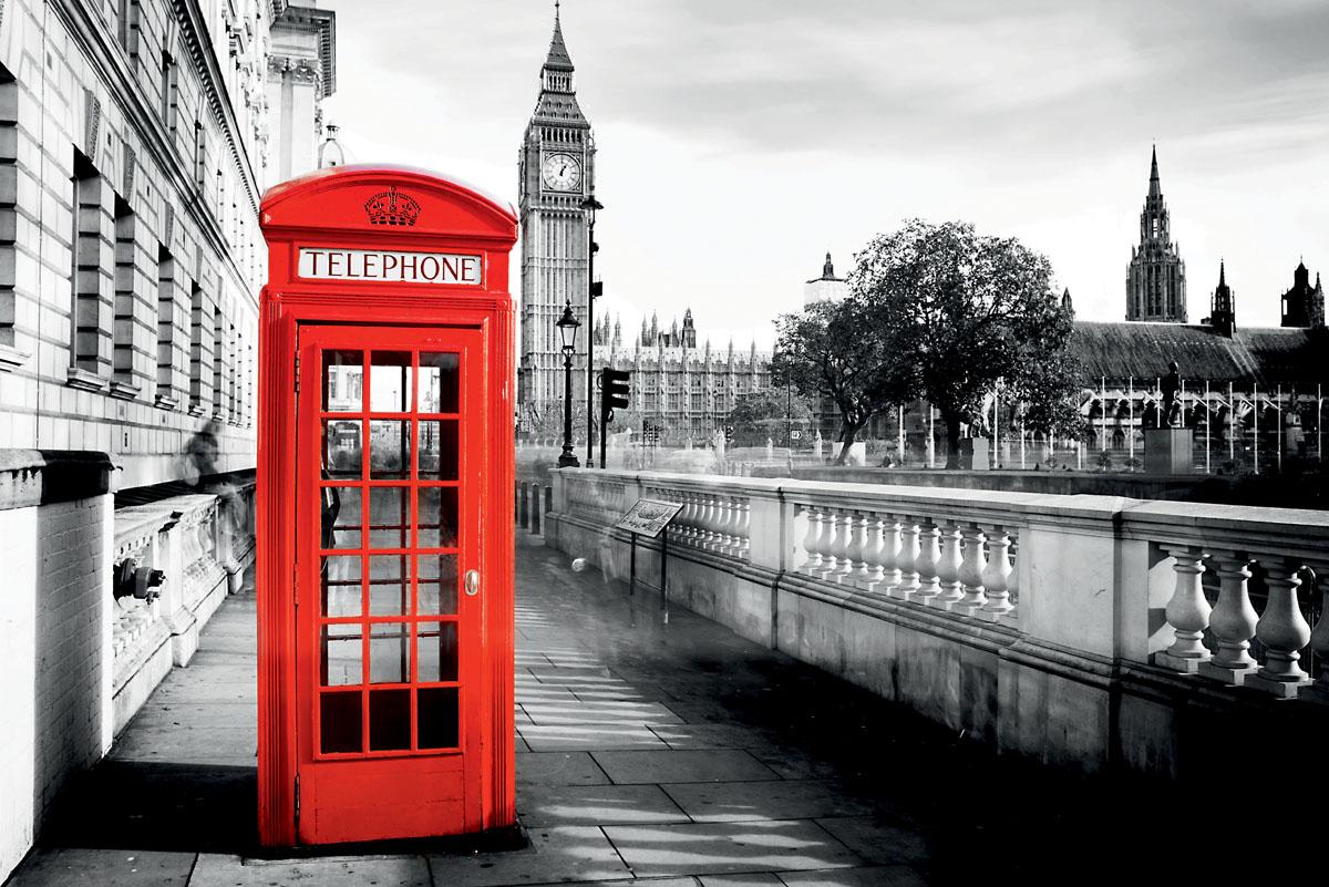 Постеры Телефонная будка, дизайн #06151