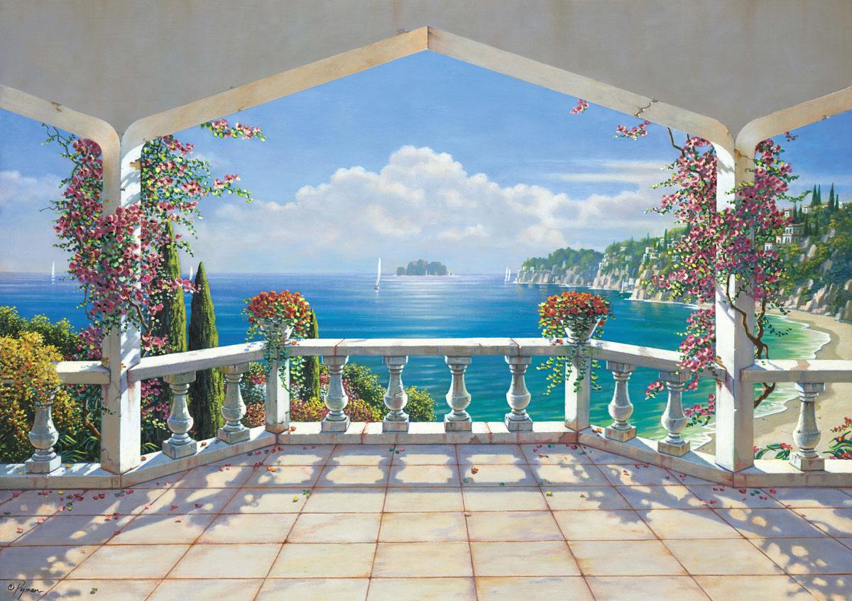 Рольшторы Фреска балкона, дизайн #06175