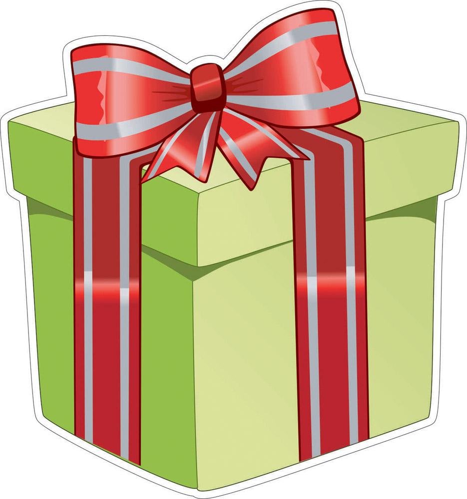 Наклейки Подарок, дизайн #06325