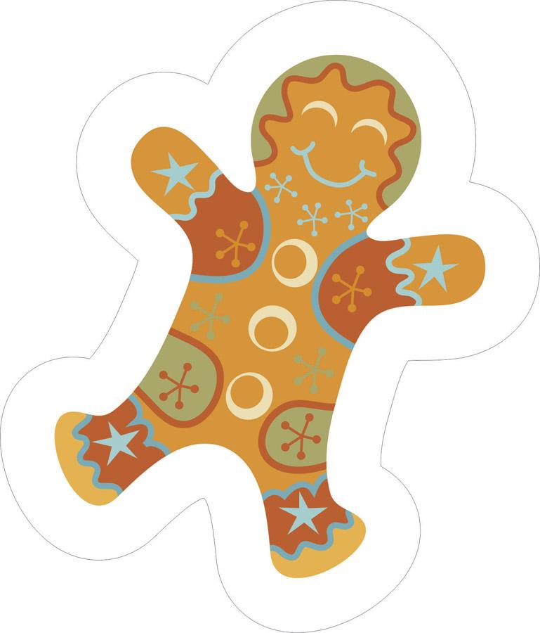 Наклейки Веселое печенье, дизайн #06499