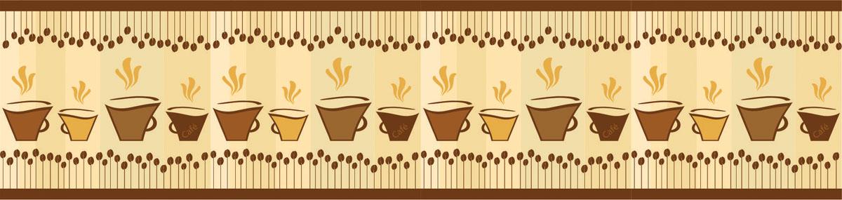 Скинали для кухни Ароматный кофе, дизайн #07442