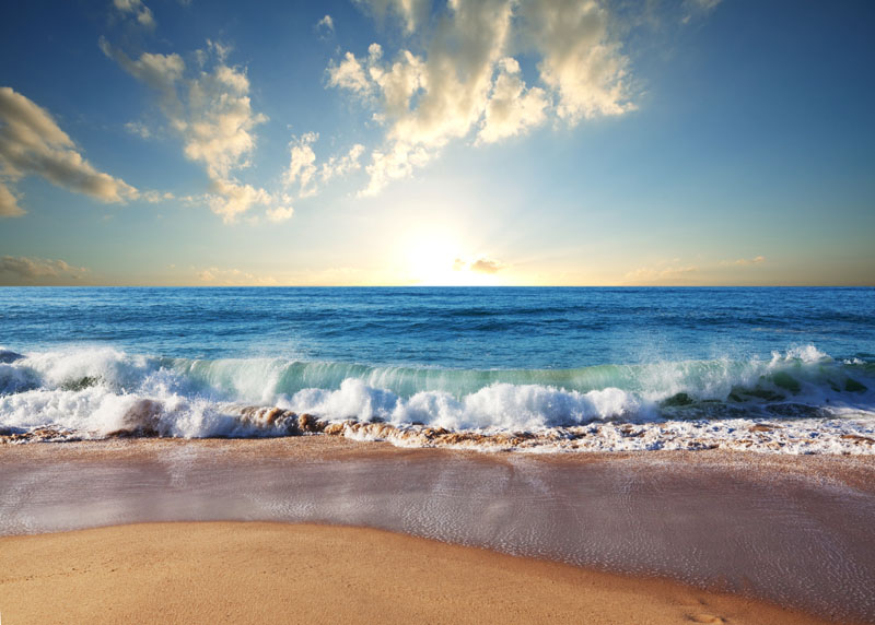 Римские шторы Море, дизайн #07489