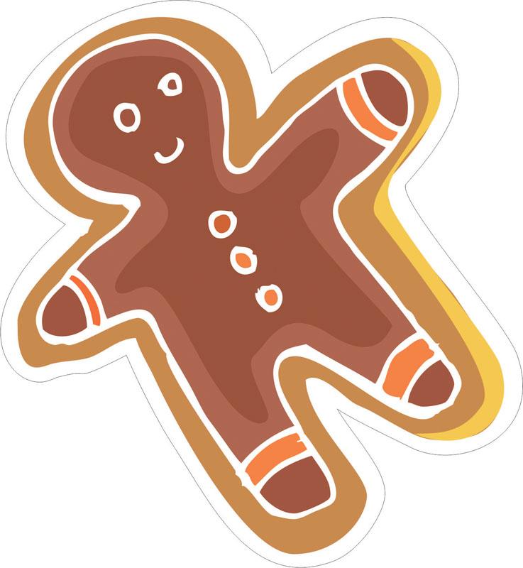 Наклейки Печенье, дизайн #07816