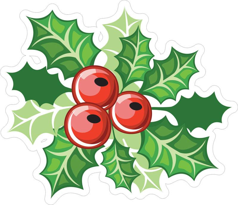Наклейки Рождество, дизайн #07820