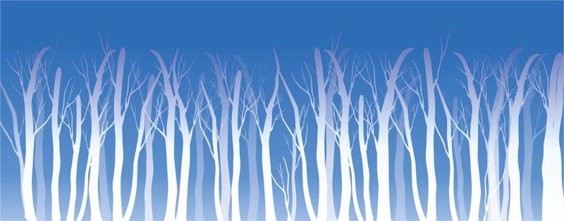 Римские шторы Зима, дизайн #08148