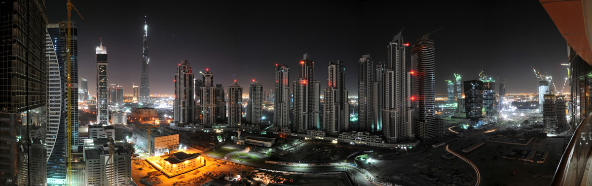 Ночной город, дизайн #08831