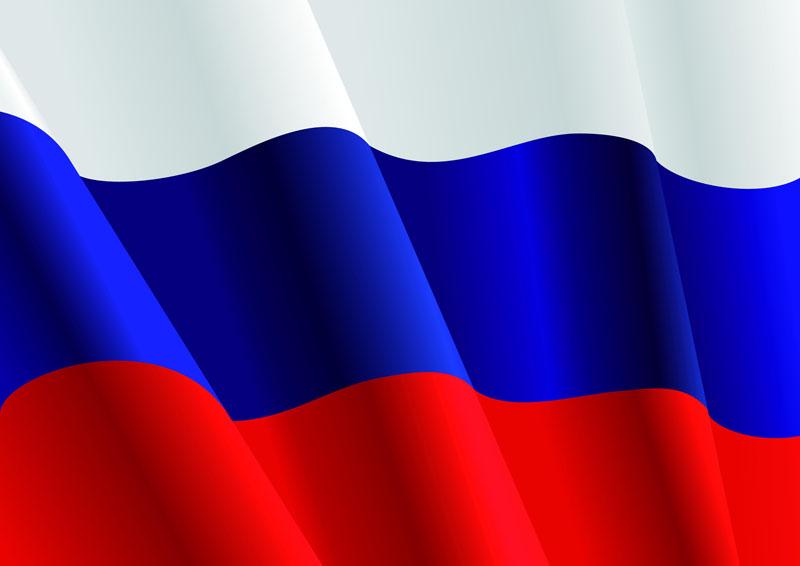 Японские панели Флаг России, дизайн #08847